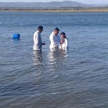 Batismo em águas - Faro