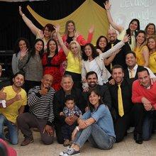 Confraternização de jovens em Oeiras