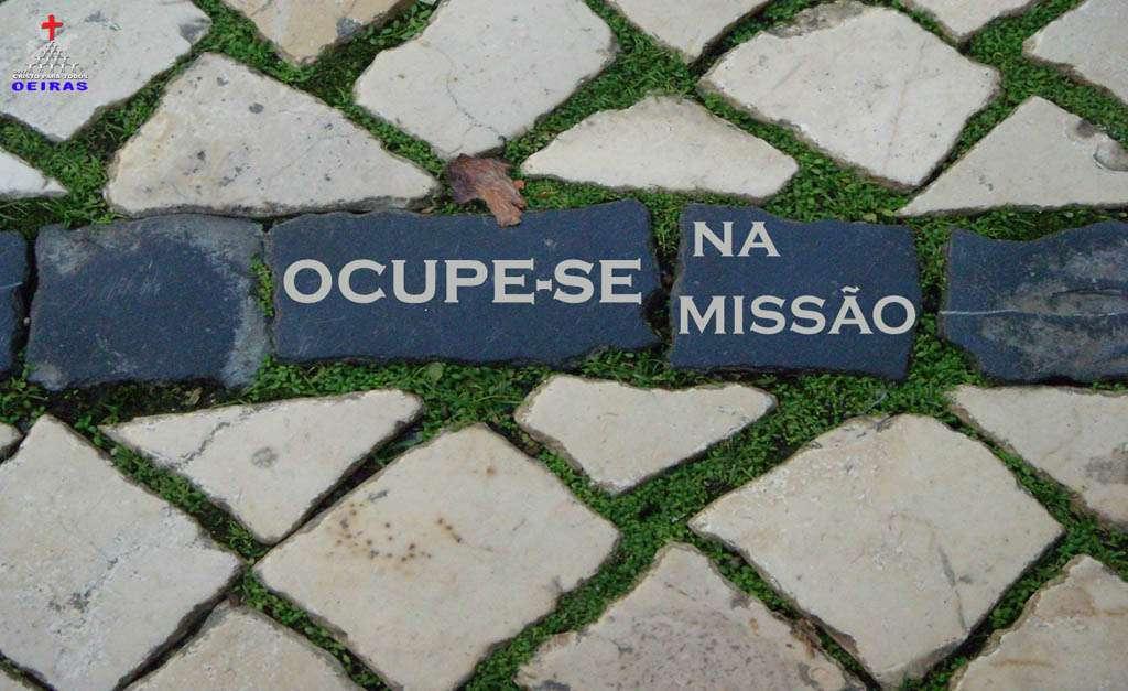 OCUPE-SE NA MISSÃO