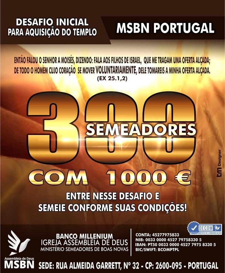Projeto 300 semeadores