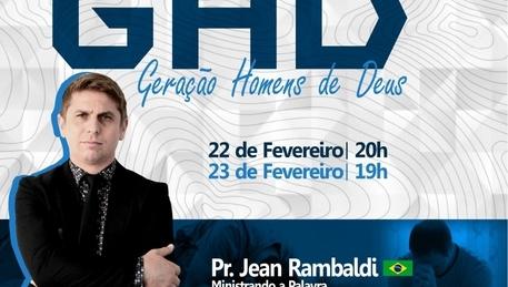 Pr Jean Rambaldi - Congresso GHD 2020