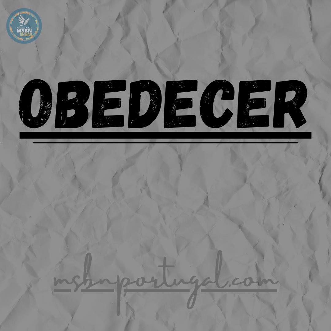 OBEDECER | Ricardo | Antônio | Cleber | Jozias