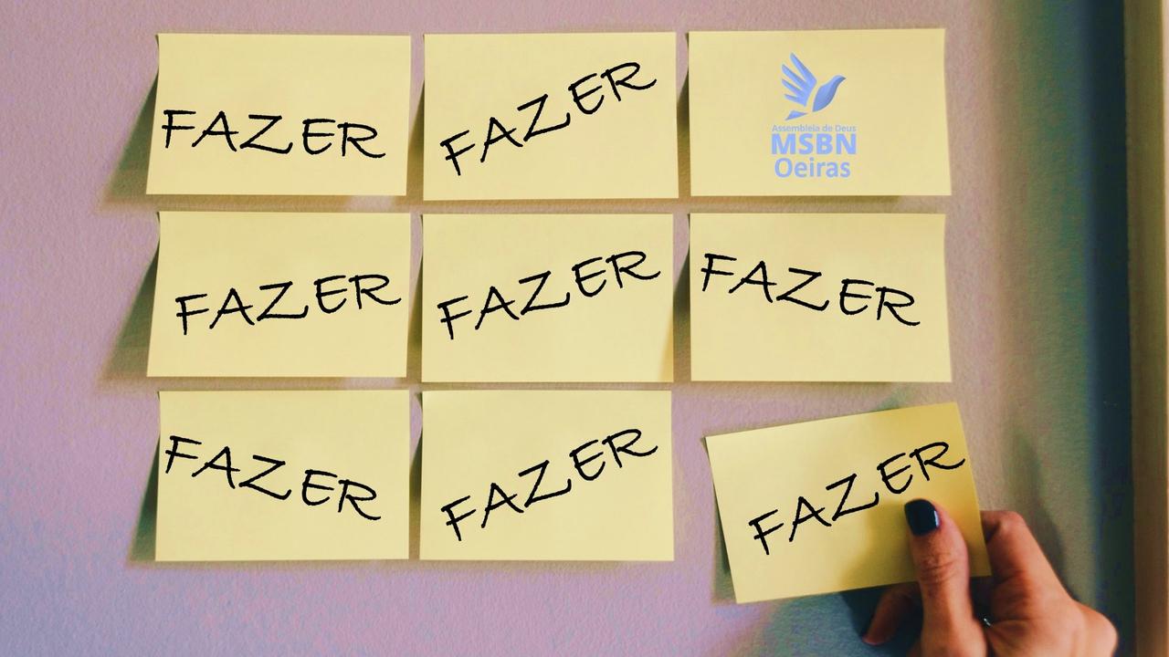 FAZER ALGO ENQUANTO ESPERA | Pb. Jozias Pinto
