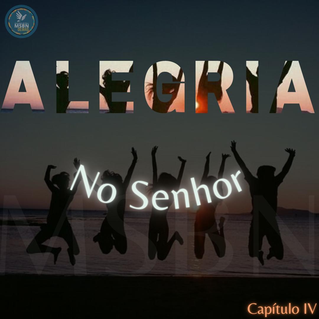 SÉRIE ALEGRIA | NO SENHOR | Pb. Jozias Pinto