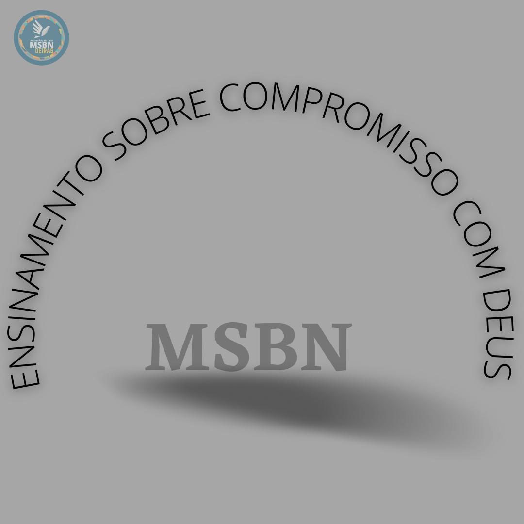 ENSINAMENTO SOBRE COMPROMISSO COM DEUS | Paulo Cesar