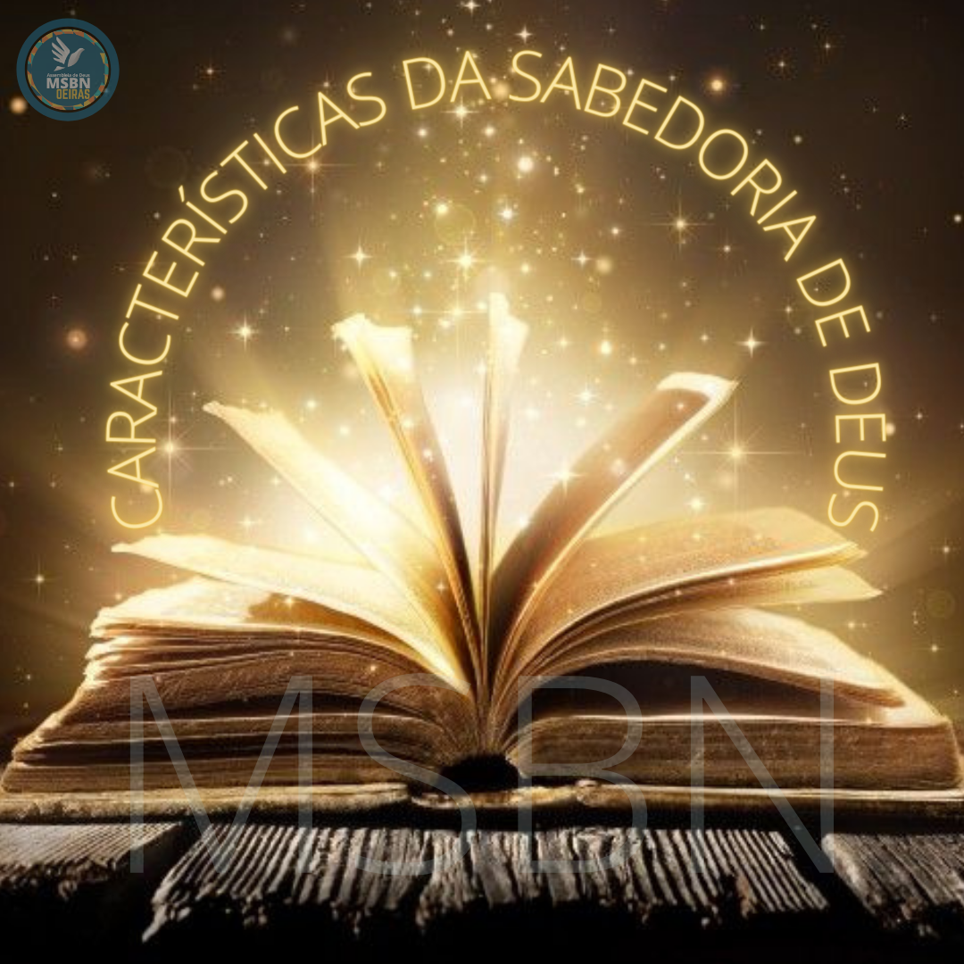 CARACTERÍSTICAS DA SABEDORIA DE DEUS | Paulo Cesar Silva