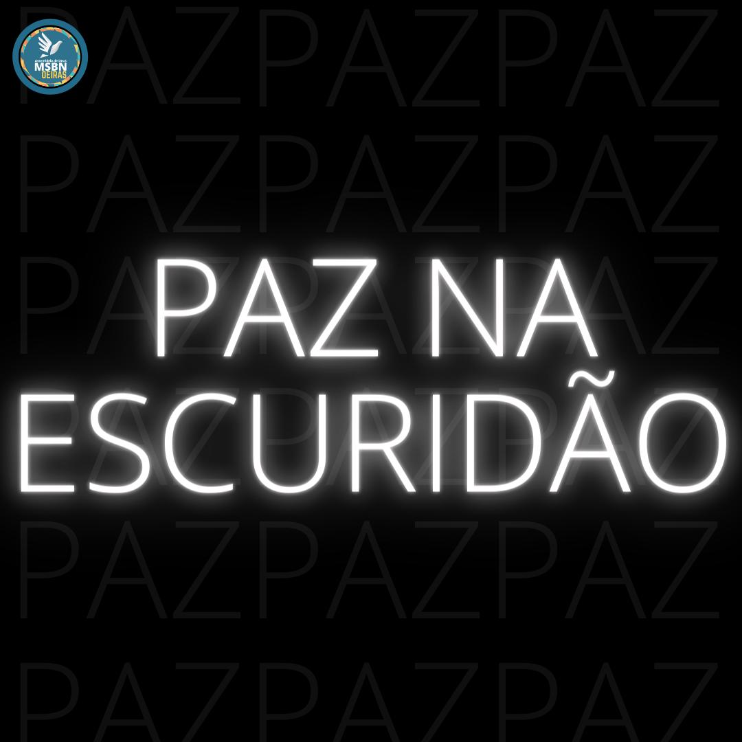 PAZ NA ESCURIDÃO | Vitor Walcker
