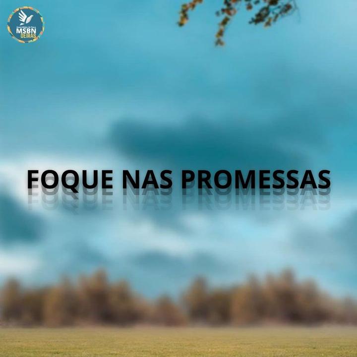 FOQUE NAS PROMESSAS | Pb Jozias Pinto