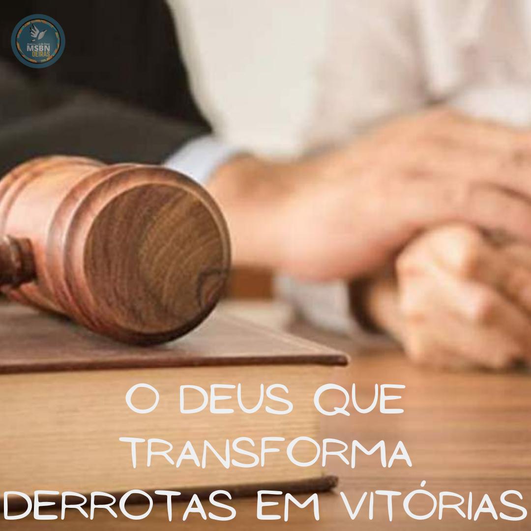 O DEUS QUE TRANSFORMA DERROTAS EM VITÓRIA | Pb Ricardo Antunes