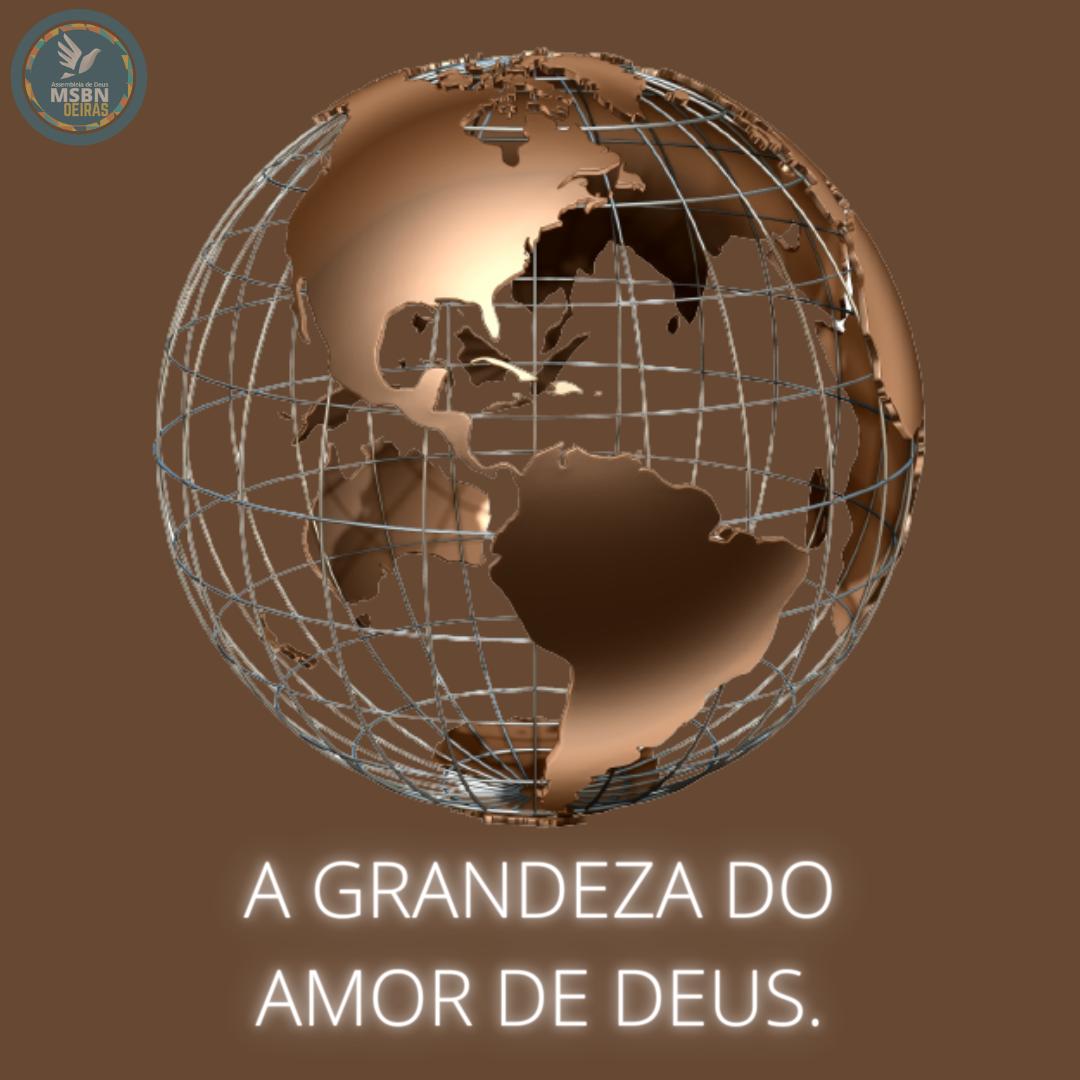 A GRANDEZA DO AMOR DE DEUS   Pb Ricardo Antunes