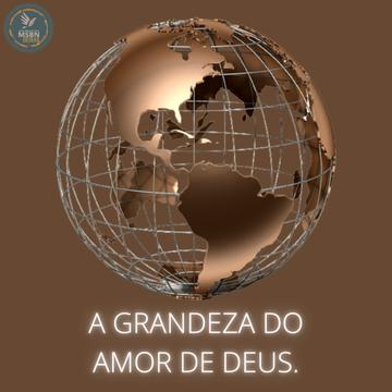 A GRANDEZA DO AMOR DE DEUS | Pb Ricardo Antunes