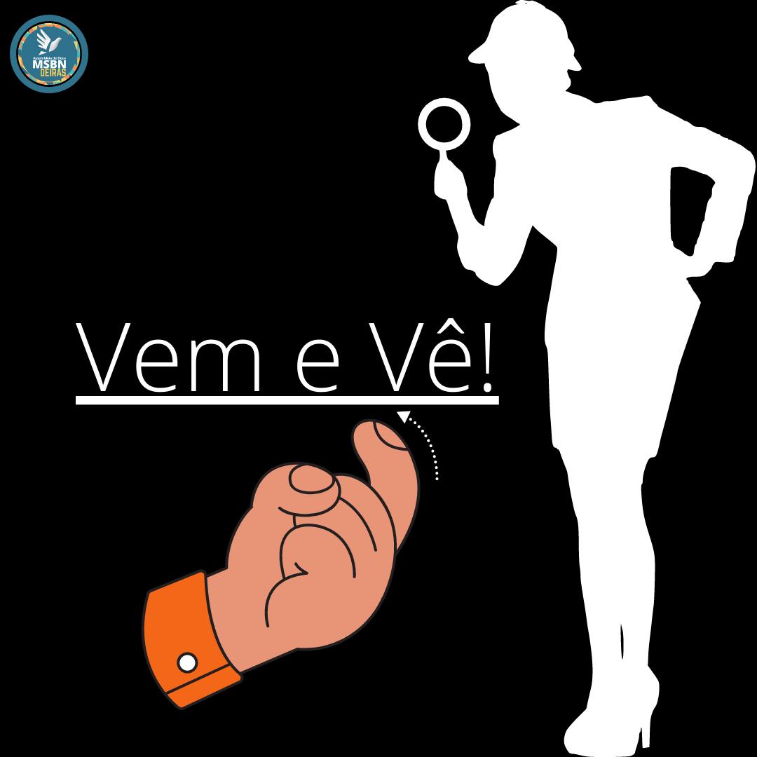 VEM E VÊ! | Pr Josué Moreira Jr