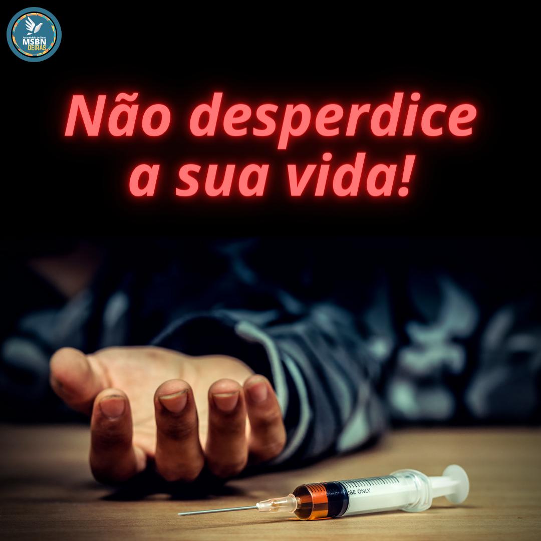 NÃO DISPERDICE A SUA VIDA   Pr Josué Moreira Jr.