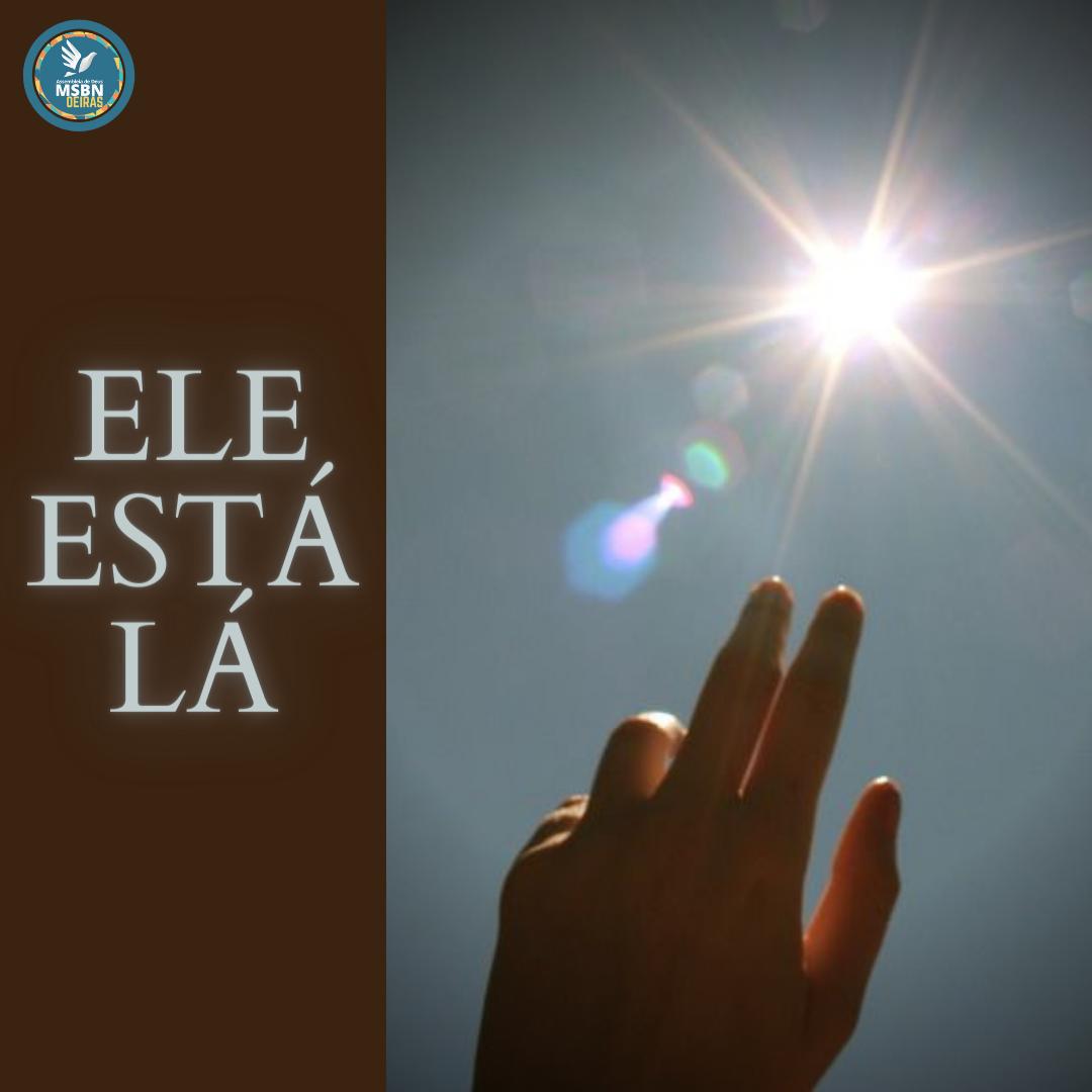 ELE ESTÁ LÁ | Pr Josué Moreira Jr.
