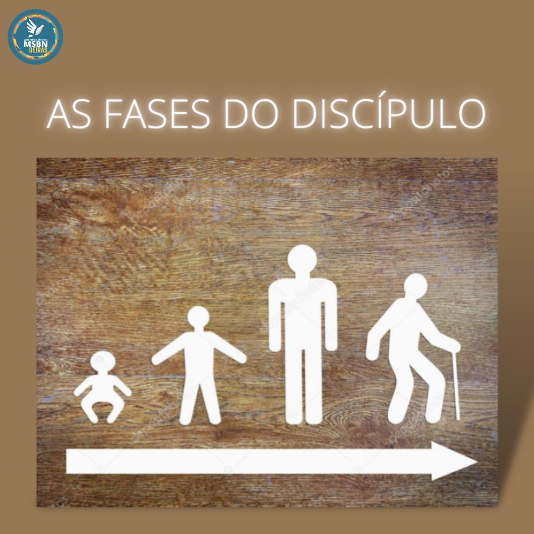 AS FASES DO DISCÍPULO | Pr Josué Moreira Jr.