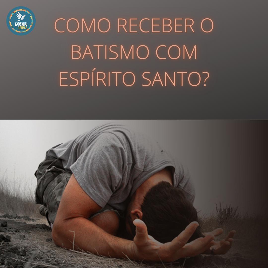 COMO RECEBER O BATISMO COM O ESPÍRITO SANTO? | Pr Josué Moreira Jr.