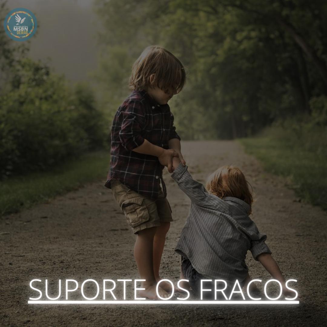 SUPORTE OS FRACOS | Vitor Walcker