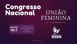 Congresso Nacional da UF - 2021