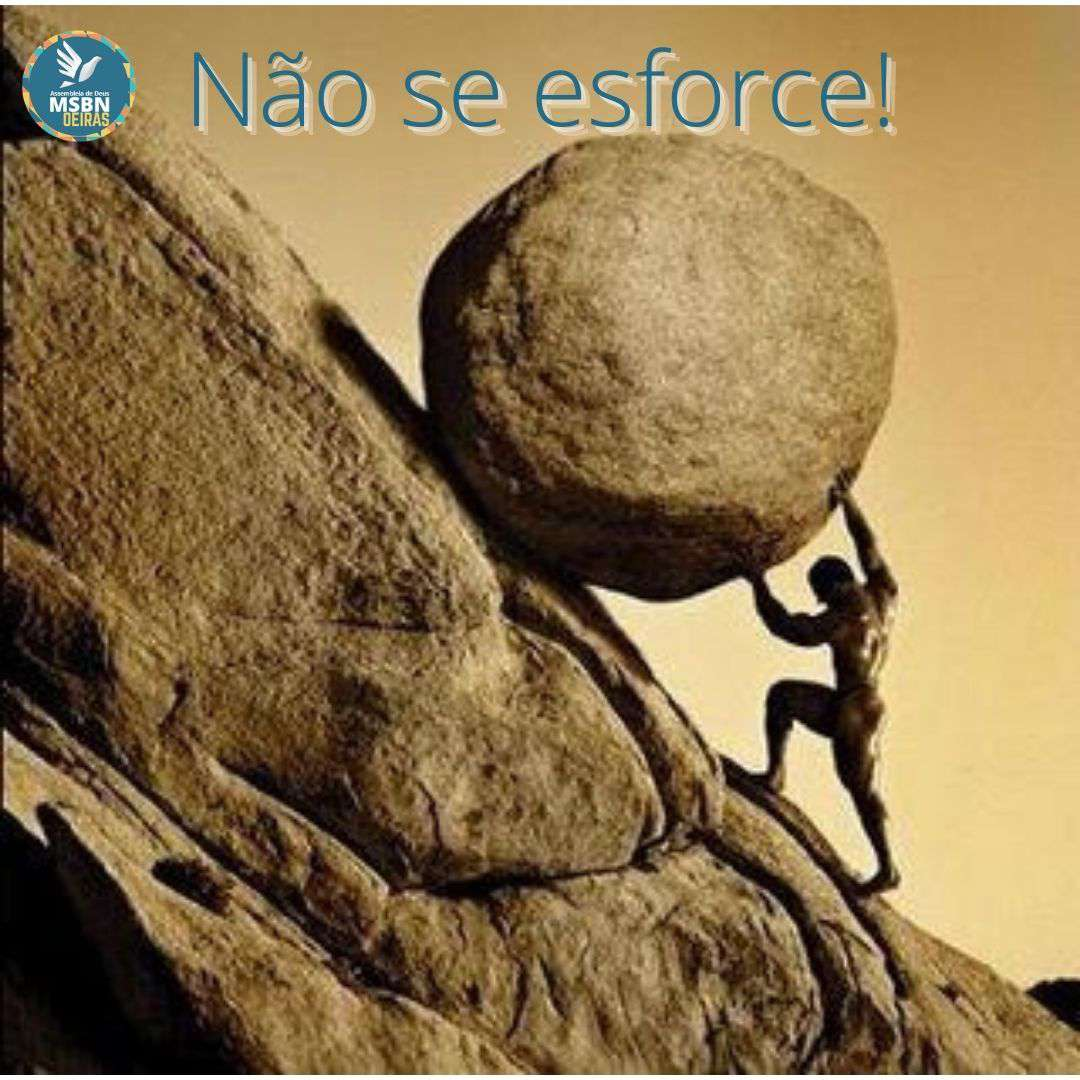 NÃO SE ESFORCE | Vitor Walcker
