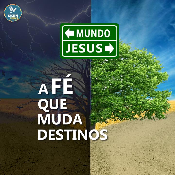A FÉ QUE MUDA DESTINOS | Pb Ricardo Antunes