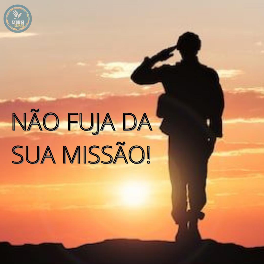 NÃO FUJA DA SUA MISSÃO! | Pr Carlos Nascimento