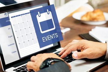 Eventos de agenda serão online