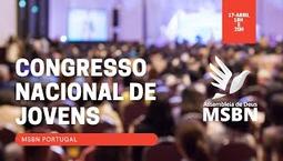 Congresso Nacional de Jovens 2021 - 2º Culto