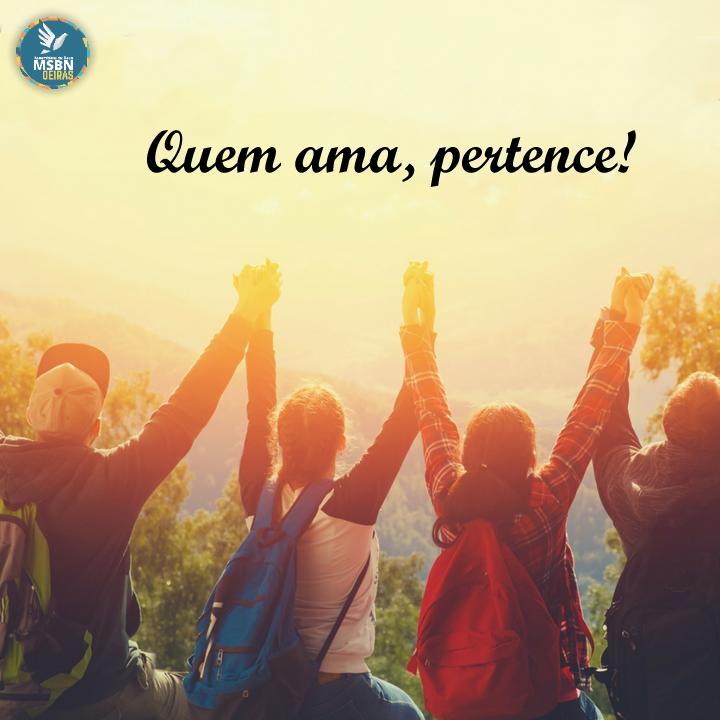 QUEM AMA, PERTENCE! | Pr Josué Moreira Jr.